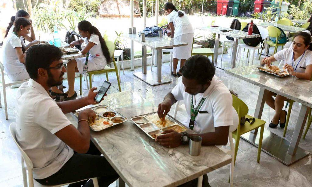 UV Gullas Canteen for International students