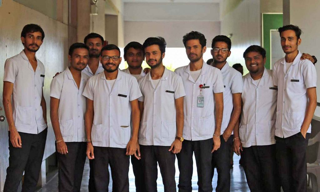 Indian Students in UV Gullas medical college