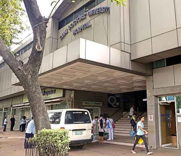 CDU Hospital in Cebu city where students from UV Gullas Medical college go for Internship