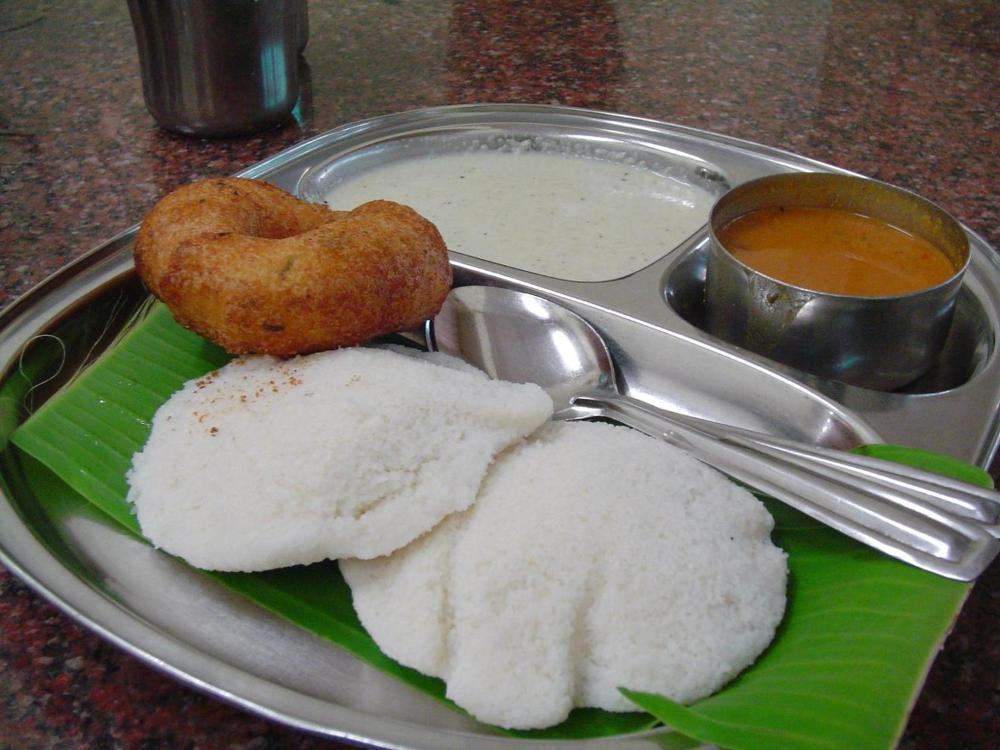 Traditional south Indian dish in UV Gullas Medical College